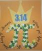Praca wyróżniona w szkolnym konkursie z okazji Światowego Dnia Liczby π