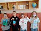 Przygotowania do Święta Patrona - prace plastyczne uczniów kl.3c